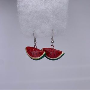 New Mexican Handcrafted Watermelon Earrings